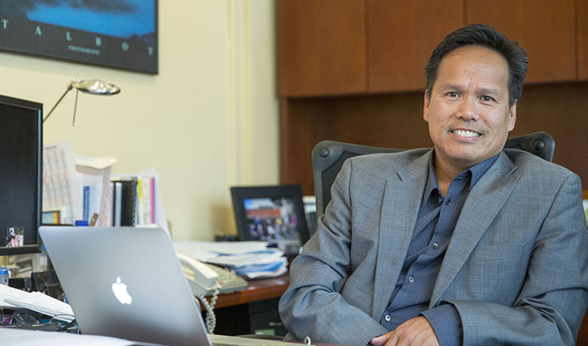 A photo of SF State health and social science dean