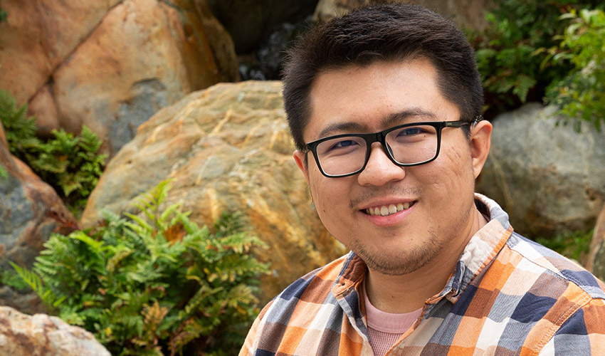 Cheng Yu - A psychology graduate student earns top CSU honor