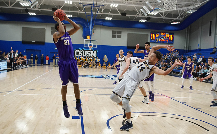 SF State Gators fall to UC San Diego in the CCAA Men's Basketball Tournament