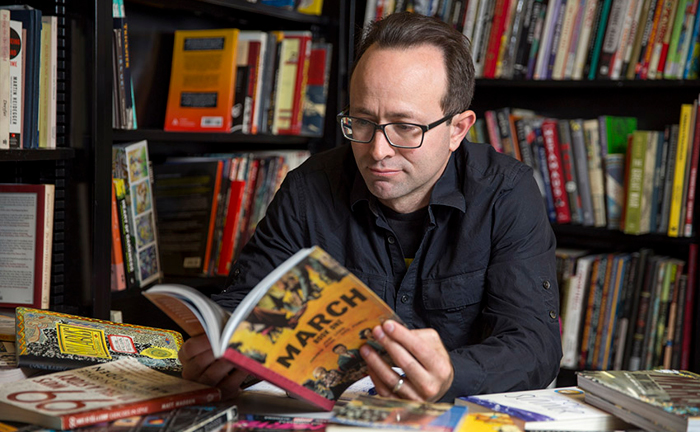 Award-winning graphic novelist Nick Sousanis