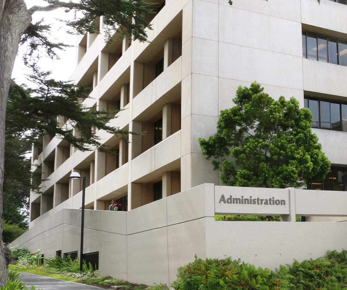 View of Administration Building at SF State