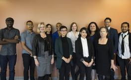 Group photo of pre-doctoral scholars