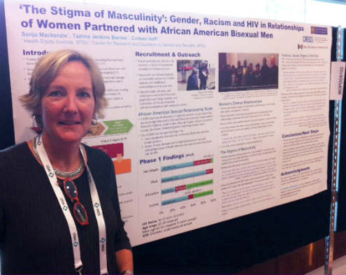 Photo of Colleen C. Hoff at AIDS 2014