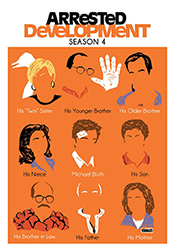 The cover of the Arrested Development Season 4 DVD