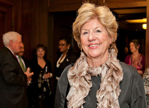 Photo of civic leader and philanthropist Judy Marcus, who was inducted into the Alumni Hall of Fame.