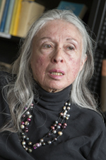A photo of Professor and Chair of Philosophy Anita Silvers.