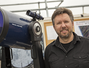 Assistant Professor of Physics and Astronomy Stephen Kane