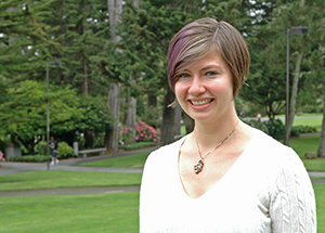 Photo of SF State postdoctoral scholar Natalie Hinkel