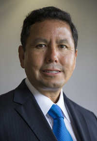 A photo of Ronald Cortez, appointed as SF State's Vice President for Administration and Finance and Chief Financial Officer