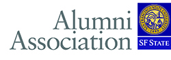 The logo of the SF State Alumni Association