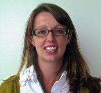 A photo of SF State Assistant Professor of Special Education Amber Friesen.
