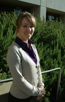 Photo of graduate student Jennifer White