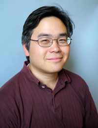 Photo of Assistant Professor of Mathematics Eric Hsu
