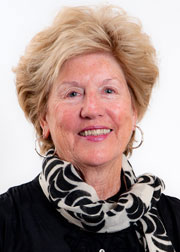 Photo of civic leader/philanthropist Judy Marcus
