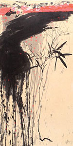 Exhibit gives Asian ink artists their