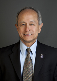A photo of SF State President Leslie E. Wong.