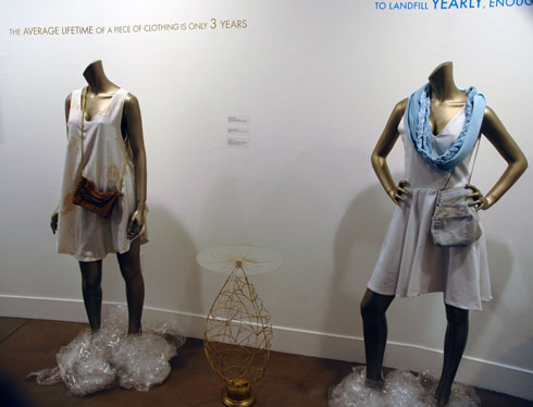 photo of two dresses that are part of the